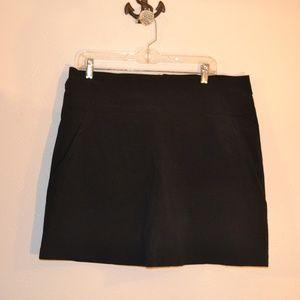 Royal Robbins Black skorts size 16